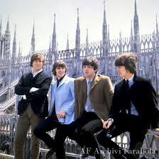 Foto dei Beatles a Milano.