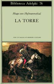 Copertina di La Torre. Edizione Adelphi, collana Biblioteca.