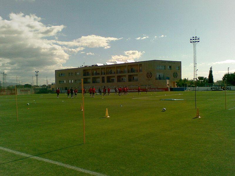 Foto del campo d'allenamento del Villareal.