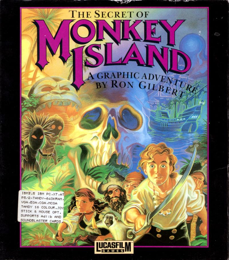 Cover di Monkey Island.