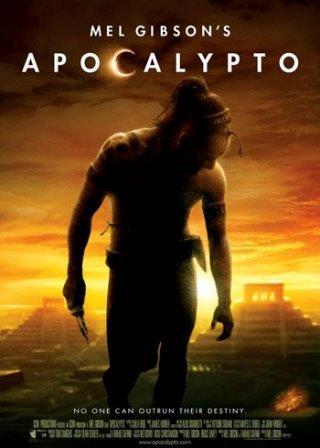 Locandina del film Apocalypto di Mel Gibson.